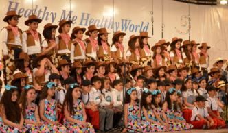 Grade 3-4 Students Perform in ISC-Erbil's Music Concert